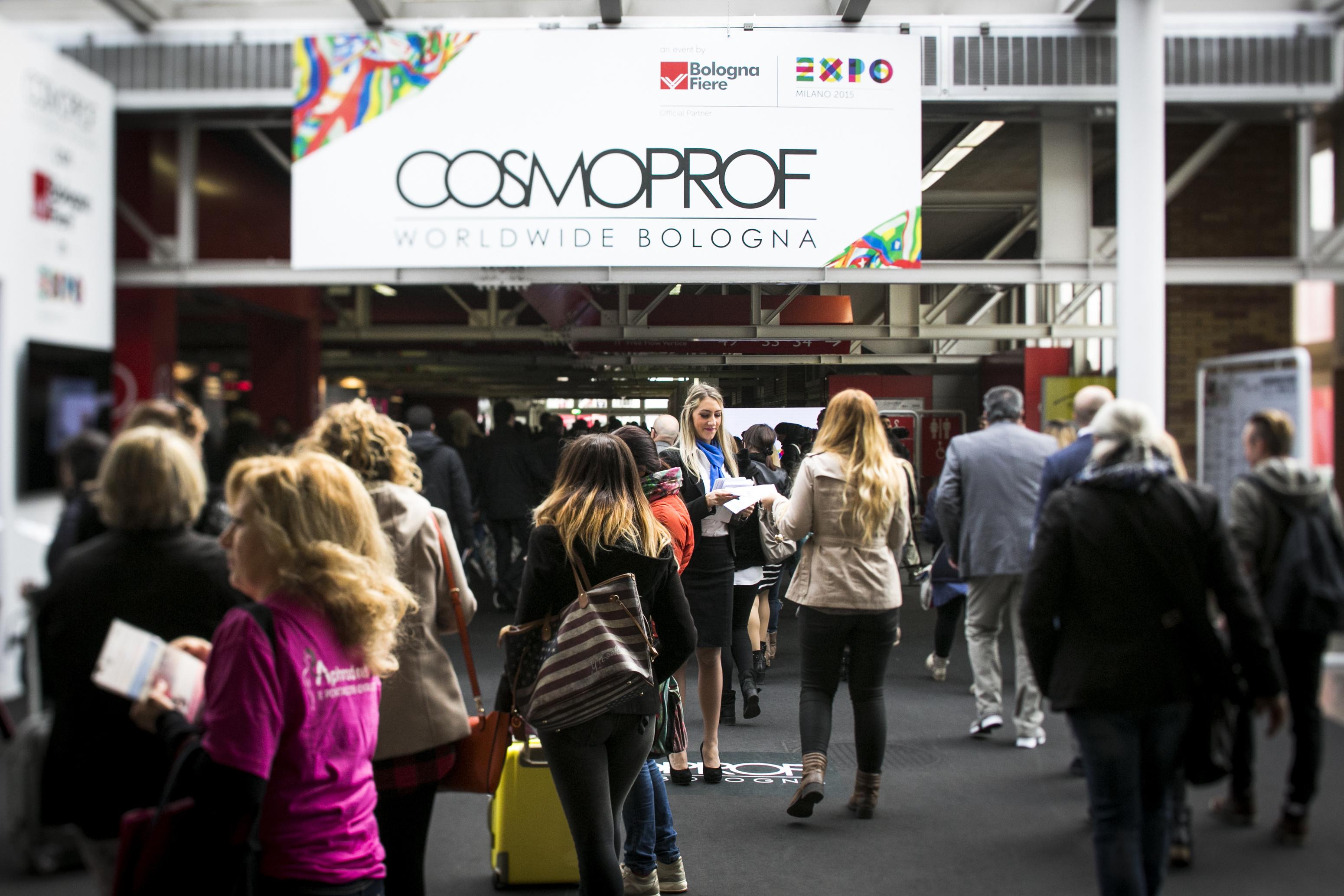 Cosmoprof Worldwide Bologne du 20.03.15 au 23.03.15