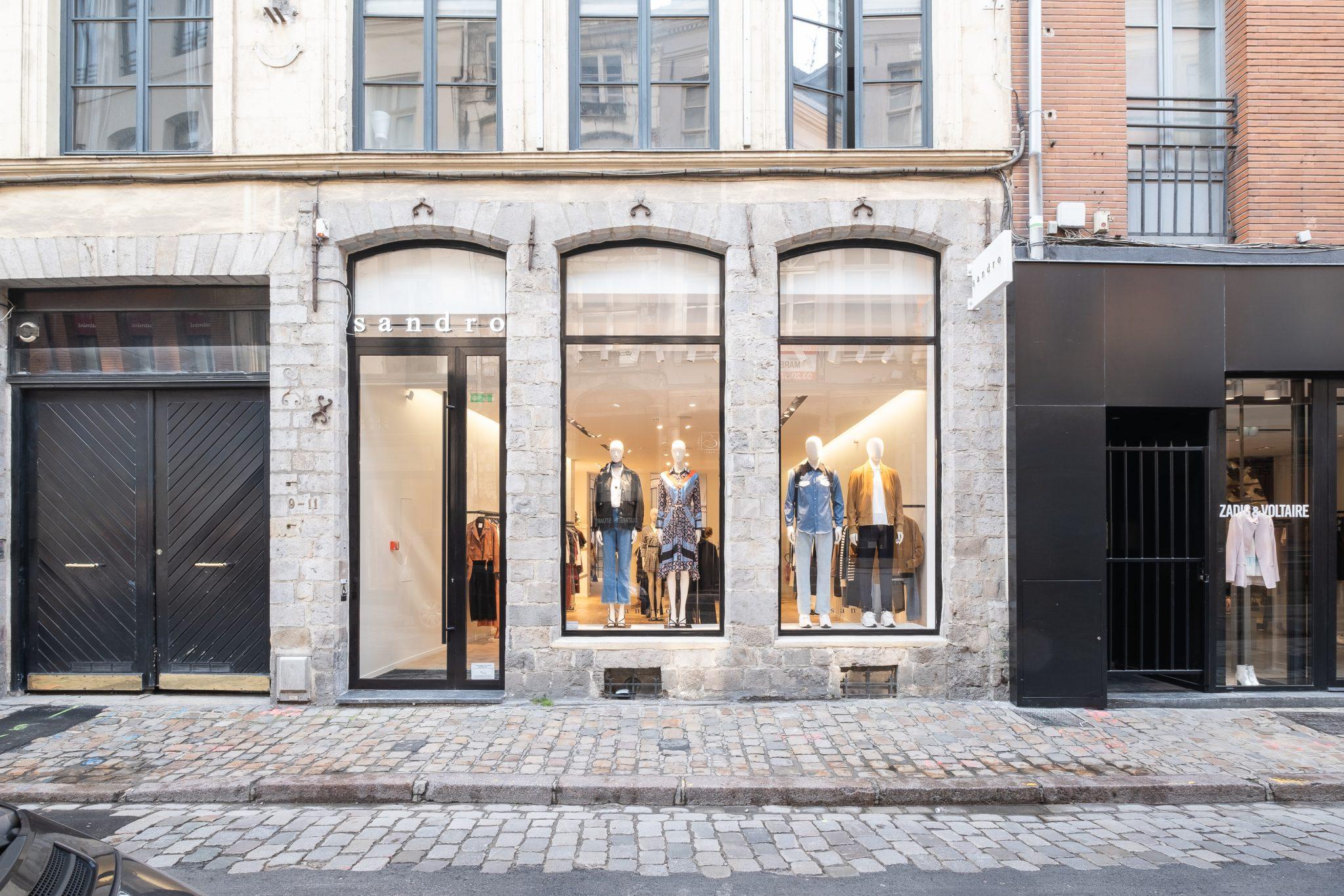 Sandro ouvre un nouveau flagship à Lille
