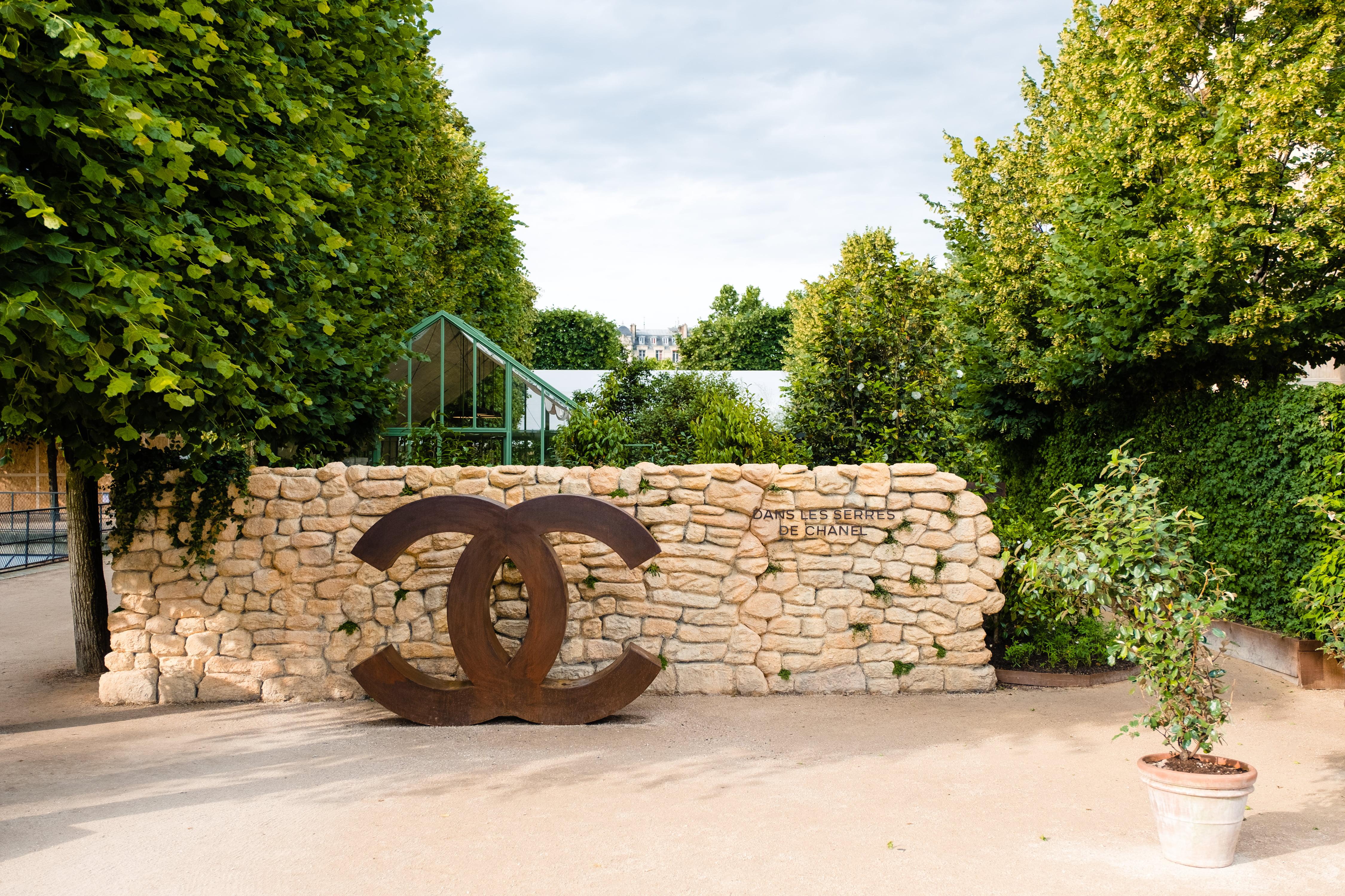 Camélia «Dans les serres de CHANEL» pour Jardins, Jardin