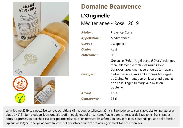 Domaine Beauvence