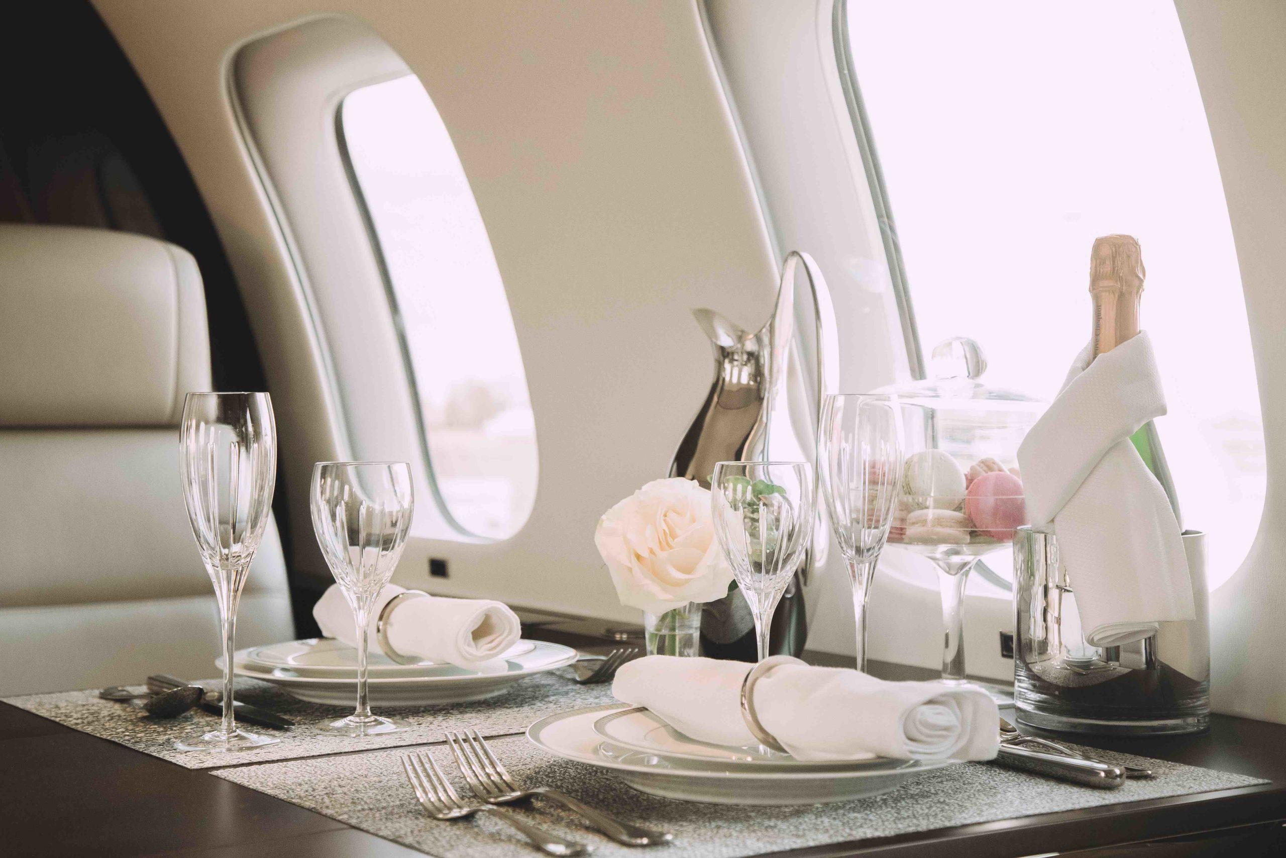 Voyager à bord d'un jet privé de luxe