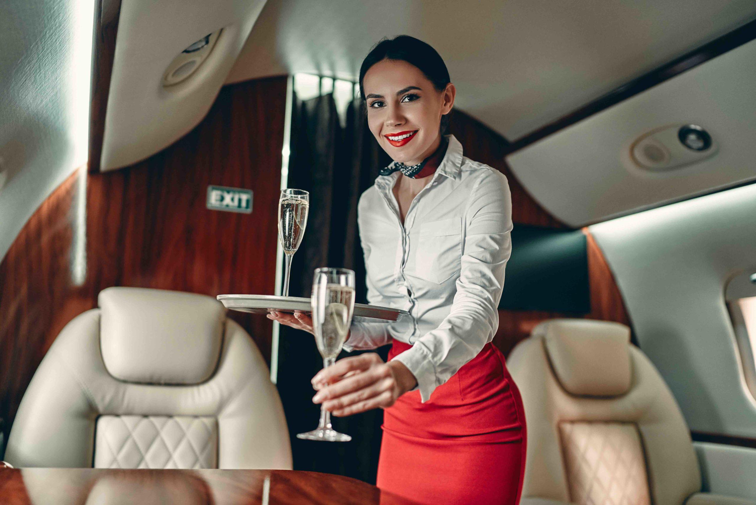 Voyager à bord d'un jet privé de luxe ?