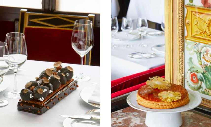 Le Grand Véfour dévoile ses créations gourmandes pour les fêtes !