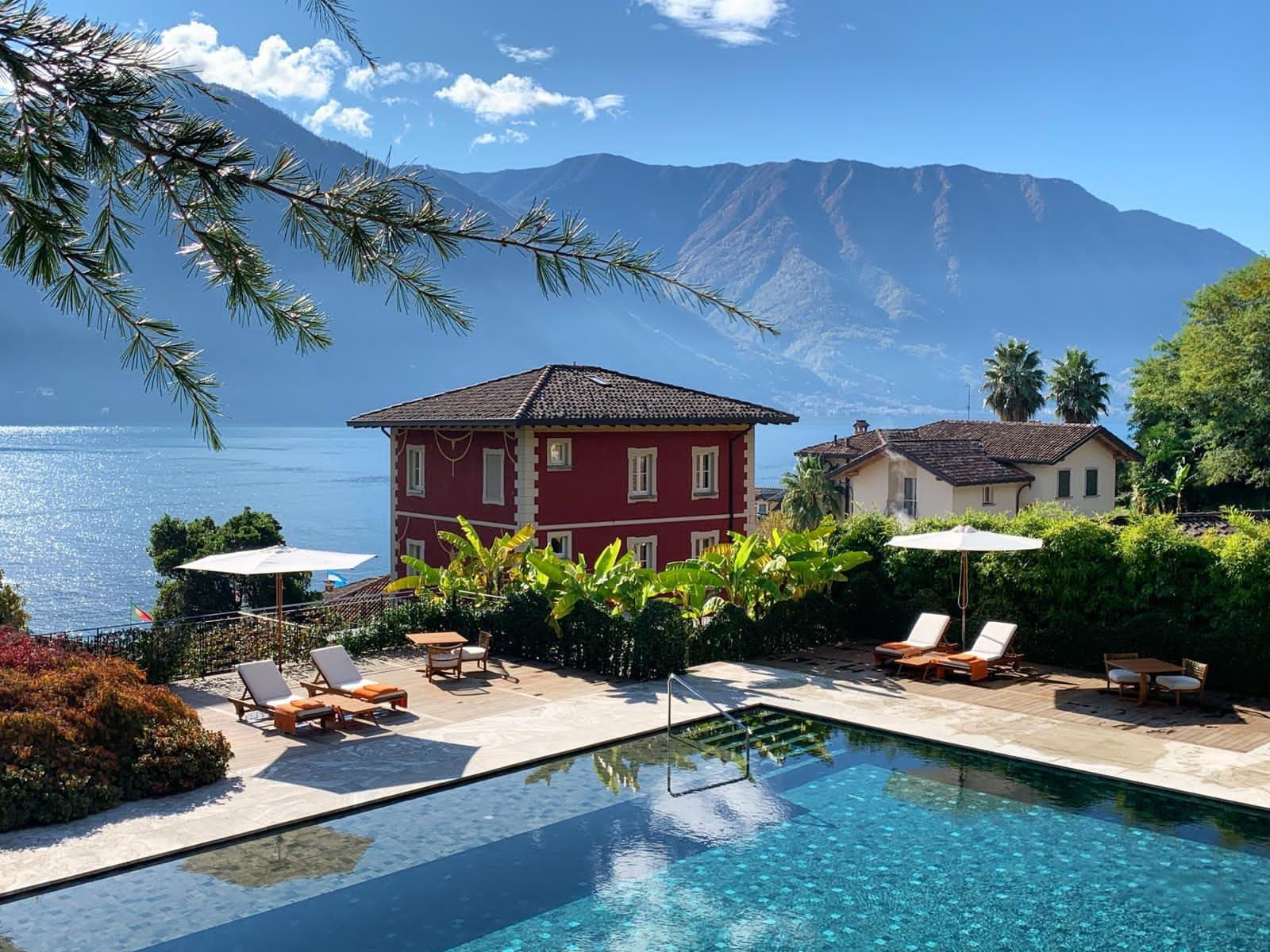 Au Grand Hotel Tremezzo il fait toujours beau !