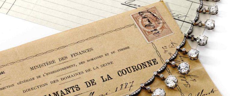 Tiffany & Co et le collier serti de diamants de la Vicomtesse douairière d'Harcourt
